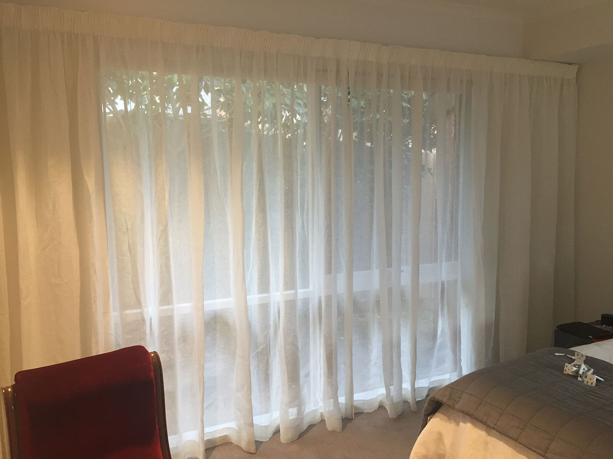 Sheer Curtains Over Block Out Roller Blinds Blind Concepts