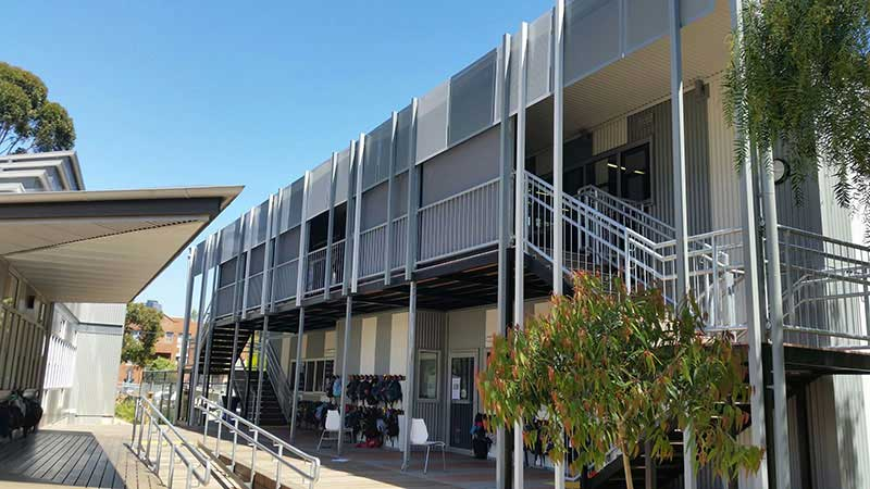 North Melbourne Primary School Blind Concepts